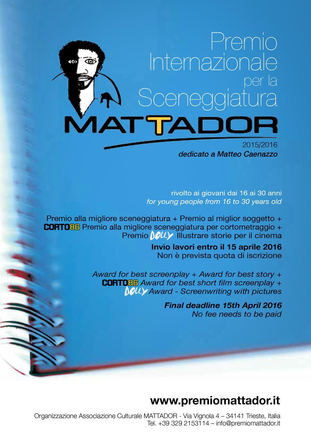 Concorsi Ed Opportunit Per Studenti Accademia Di Belle Arti Di Urbino