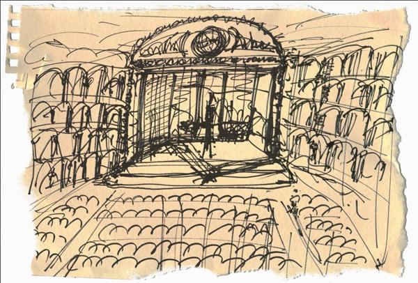 Disegno di Davide Livermore
